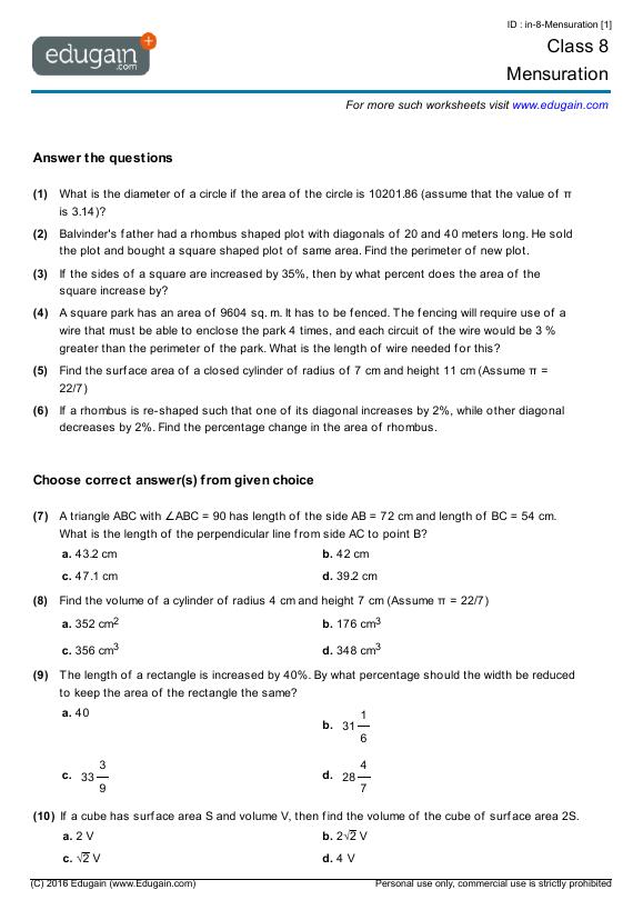 math worksheet : grade 8 math worksheets bc canada  educational math activities : Addison Wesley Math Worksheets
